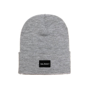 InkAddict Staple Beanie Heather Grey
