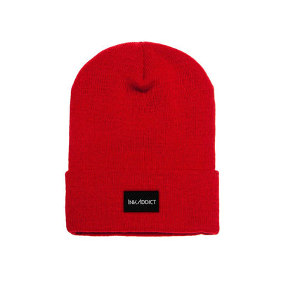 InkAddict Staple Beanie Red