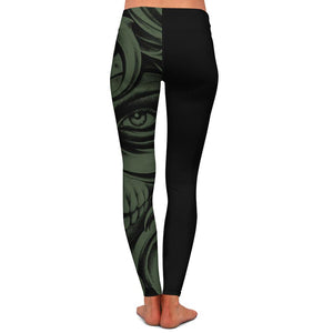 Jensen Death Womens Premium Leggings