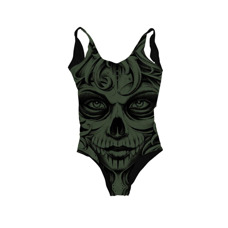 Jensen Death Womens Bodysuit