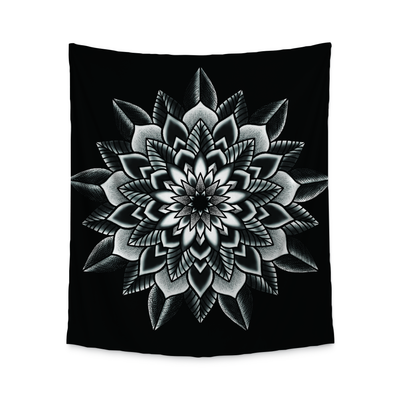 Kat Mandala Wall Tapestry Indoor