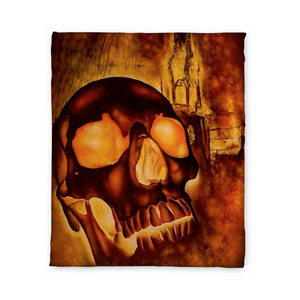 Kelley Skull Fleece Blanket
