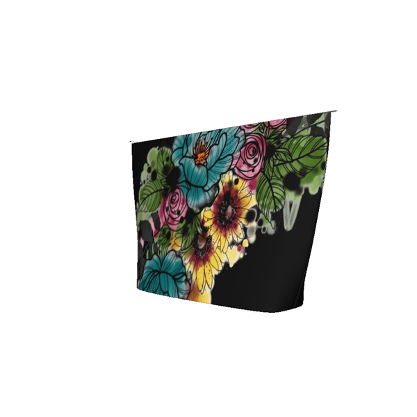 Kristel Flowers Accessory Pouch