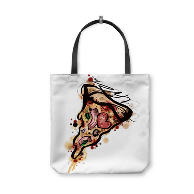 Kristel Pizza Tote Bag