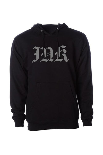 INK Lettering Men's Black Pullover