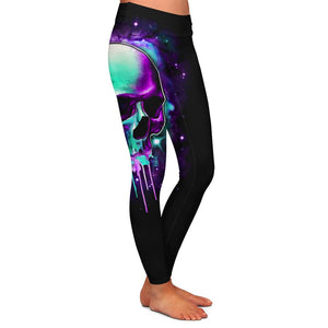 Malek Skull Womens Premium Leggings