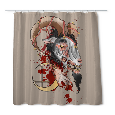 Matty Darkside Shower Curtain