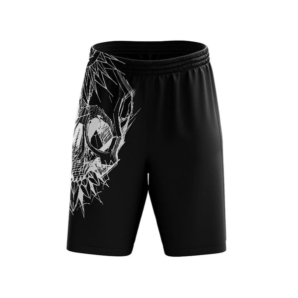 Mushaney Skull Mens Shorts