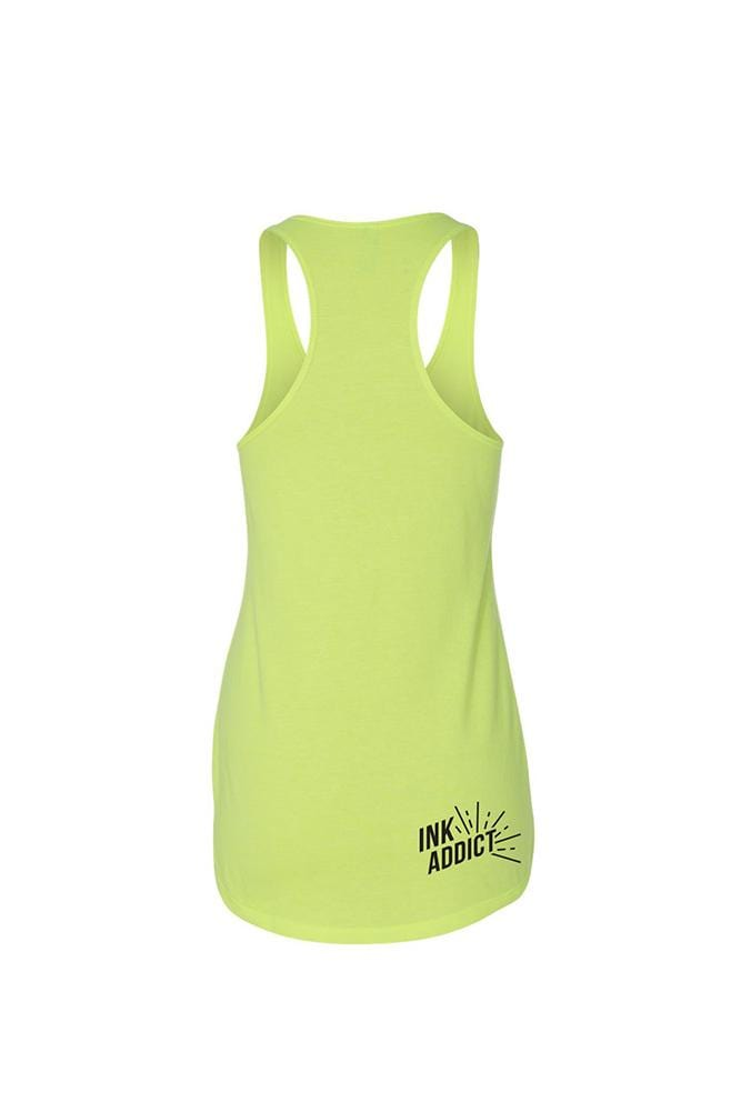 New Tan Women's Neon Yellow Tank
