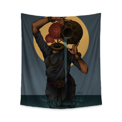 Olivia Lady Wall Tapestry