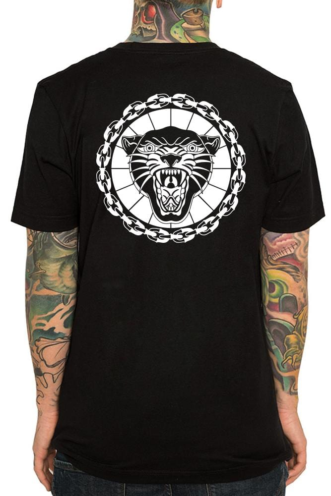 Panther Men's Black Tee