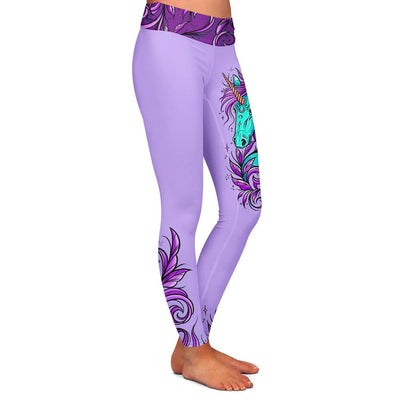 Sam Unicorn Womens Premium Leggings