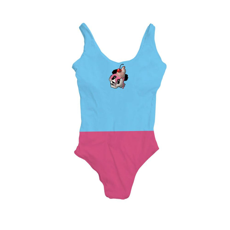 Steele Panda Womens Bodysuit