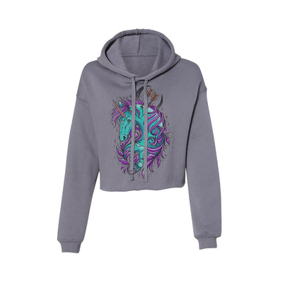 Sam Unicorn Women's Crop Hoodie