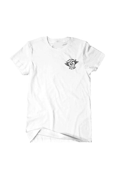 Black Sheep III Men's White Tee