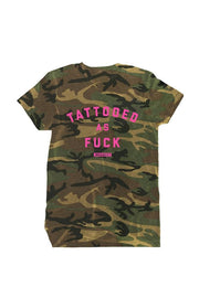 Tattooed As Fuck Men's Camo Tee
