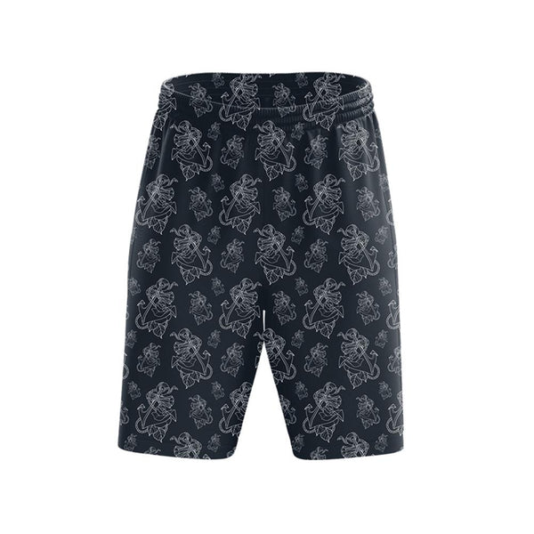 Timmy B Anchor Outline Mens Shorts