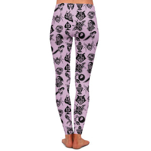 Thorsell 13th Pink Womens Premium Leggings