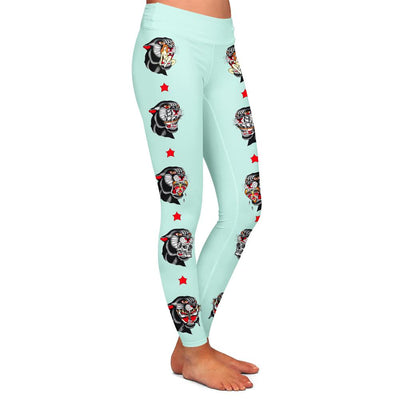 Thorsell Panther Mint Womens Premium Leggings