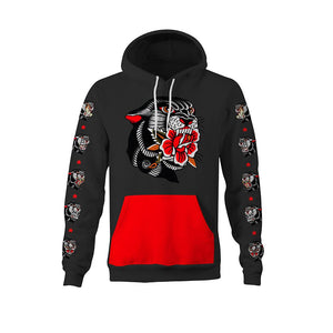Thorsell Panther Charcoal Unisex Hoodie