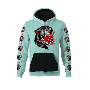 Thorsell Panther Mint Unisex Hoodie