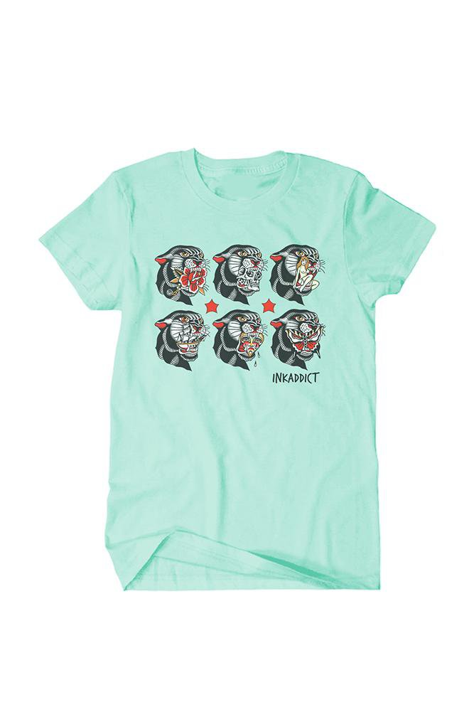 Thorsell Panther Mint Unisex Tee