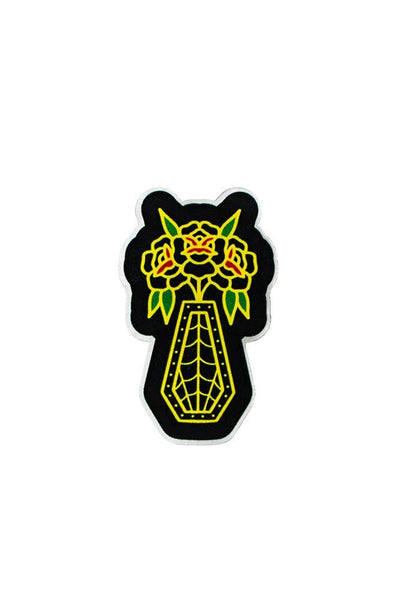 Til Death Acrylic Pin