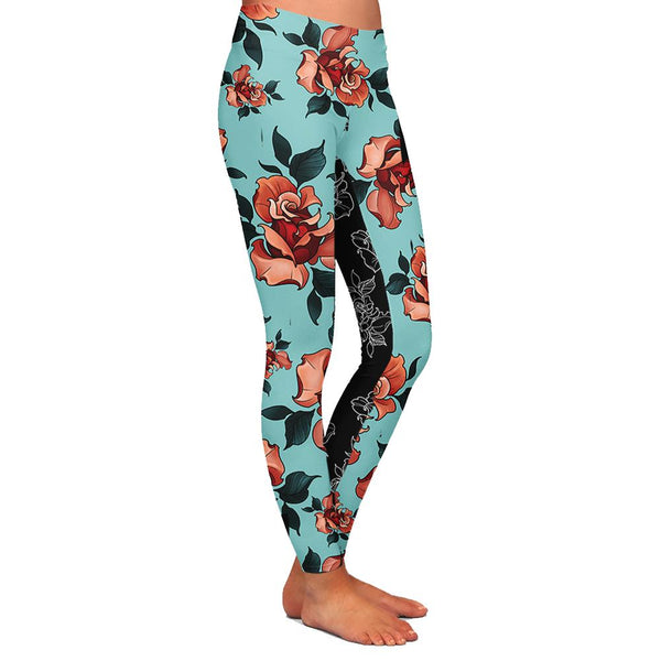 Timmy B Rose Womens Premium Leggings