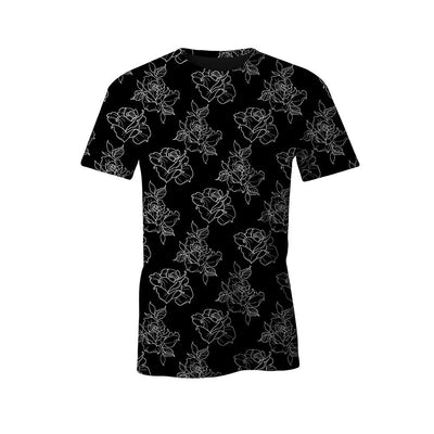 Timmy B Rose Outline Unisex Tee