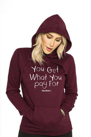 You Get... Women's Blackberry Pullover