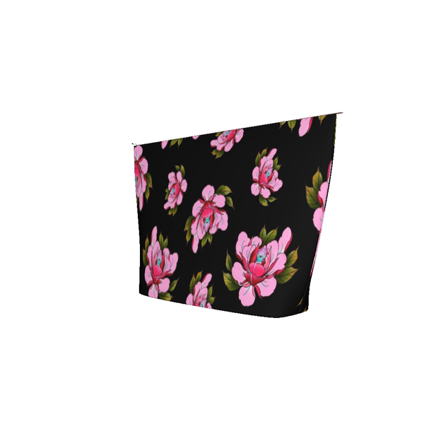 Travis Brown Flowers Accessory Pouch