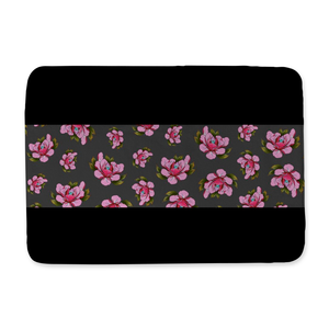 Travis Brown Flowers Bath Mat