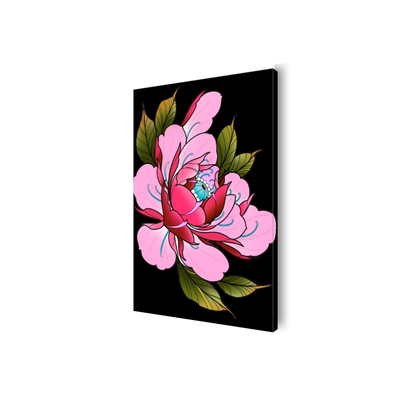 Travis Brown Flowers Canvas