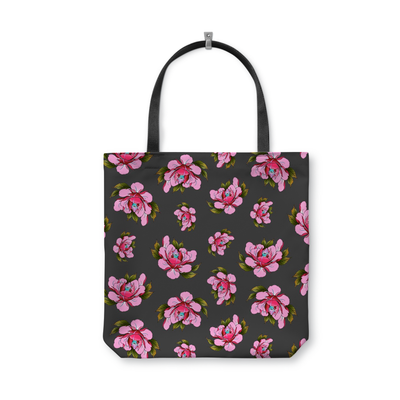Travis Brown Flowers Tote Bag