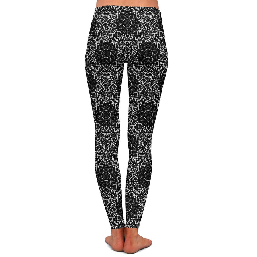 Woods Mandala Womens Premium Leggings