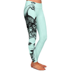 Yely Lady Womens Premium Leggings