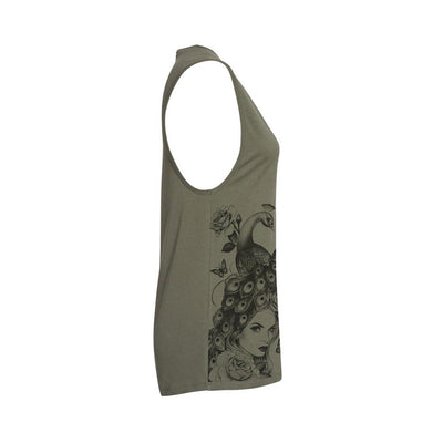 Yely Bird Women's Muscle Tank