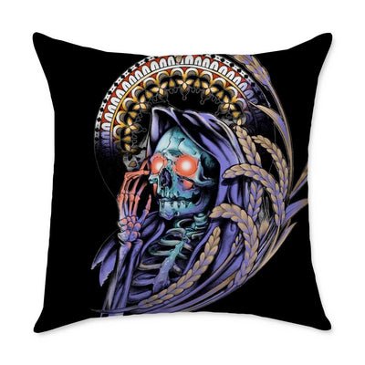 Cheetham Reaper Throw Pillow