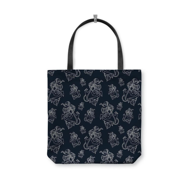 Timmy B Anchor Outline Tote Bag