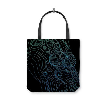 Fults Skull II Tote Bag
