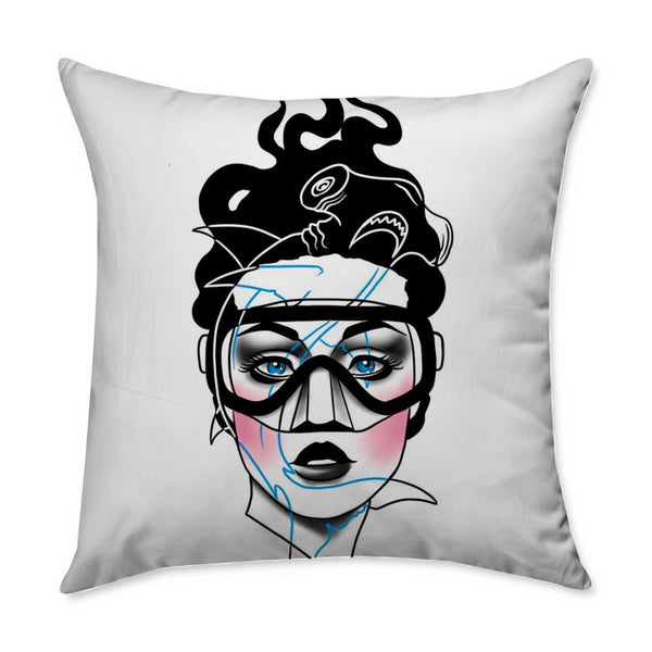 Drew Nautical Scuba Throw Pillow