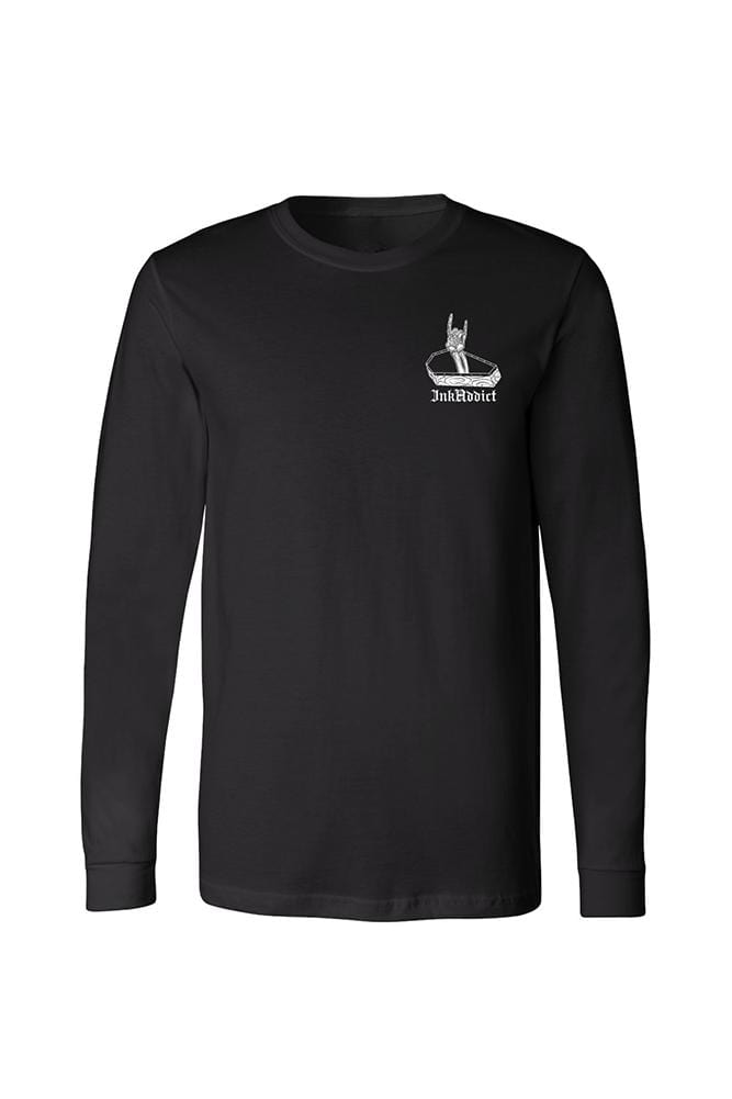 Another Men's Black Long Sleeve Tee