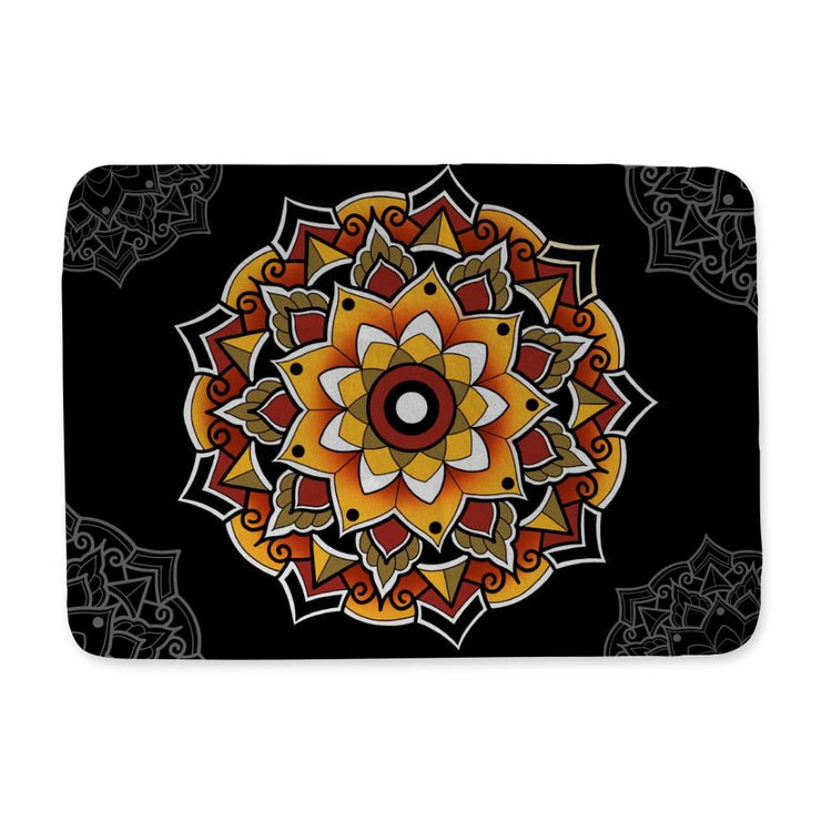 Woods Mandala Bath Mat
