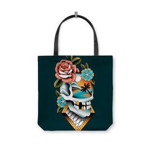 Campbell Skull Tote Bag