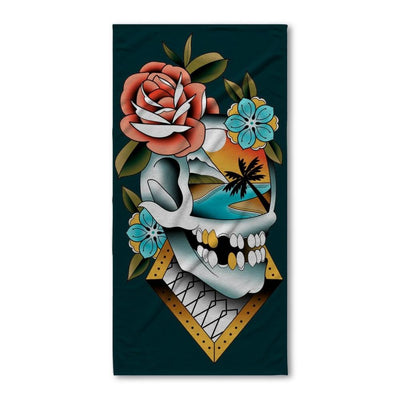 Campbell Skull Bath Towel