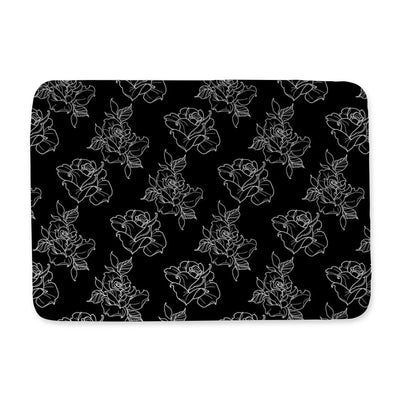 Timmy B Rose Outline Bath Mat
