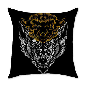 Travis Deception Square Throw Pillow