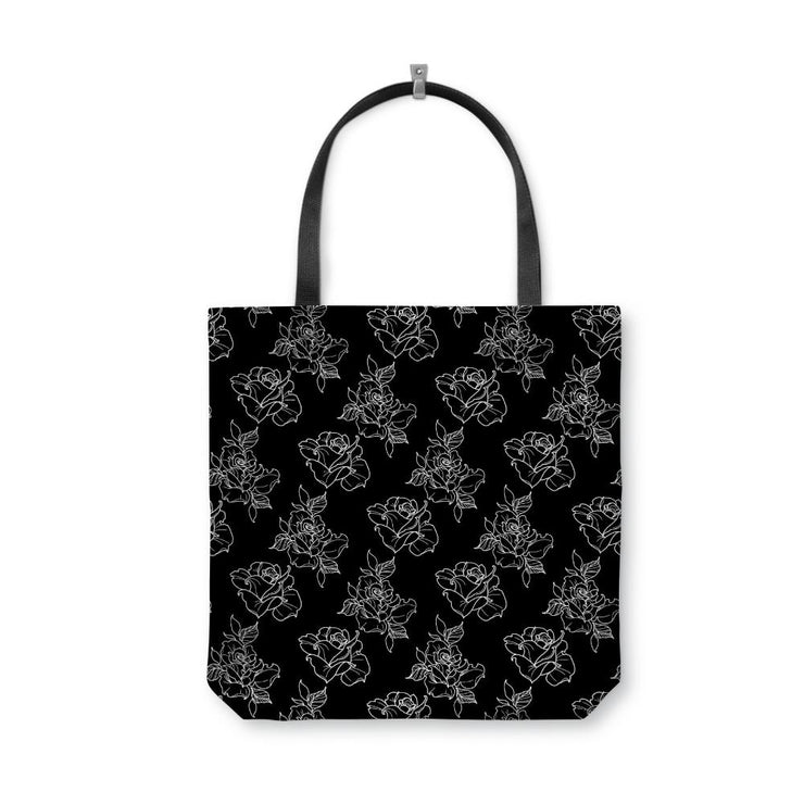 Timmy B Rose Outline Tote Bag