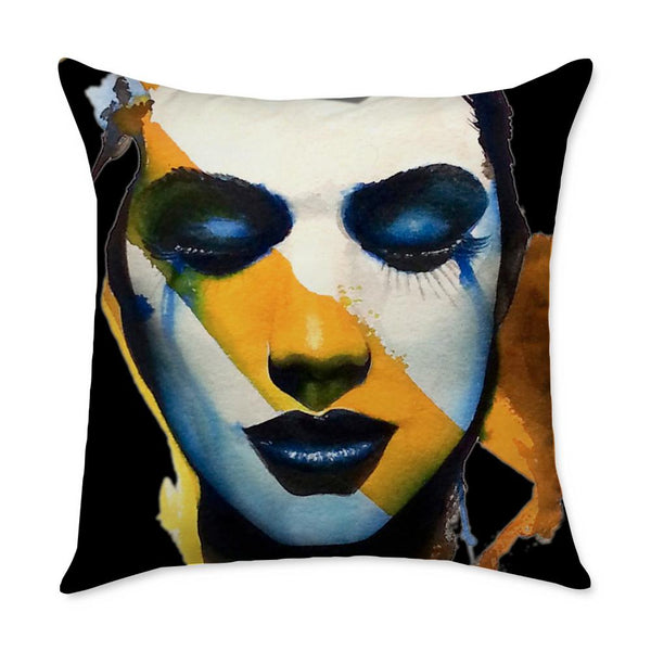 Cotterman Girl II Throw Pillow