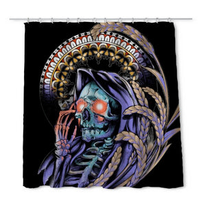 Cheetham Reaper Shower Curtain